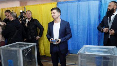 Ε.Ε. και Γερμανία συγχαίρουν τον Ζελένσκι για την εκλογή του