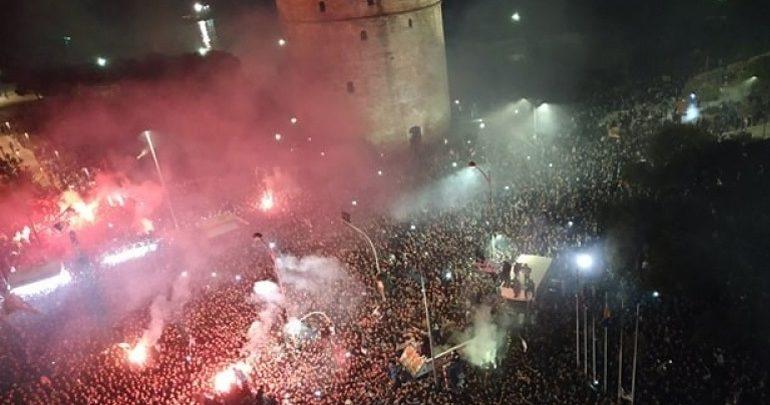Θεσσαλονίκη: Νεκρός 22χρονος οπαδός του ΠΑΟΚ μετά το γλέντι του τίτλου