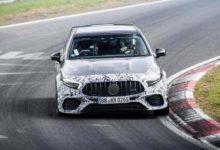 Αποκαλύπτεται το πανίσχυρο hot hatch της Mercedes