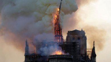Εργάτες στη Notre Dame παραβίασαν την απαγόρευση καπνίσματος