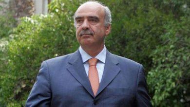 Παραιτήθηκε από βουλευτής ο Ευ. Μεϊμαράκης