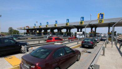 Αυξημένη η κίνηση των οχημάτων στα διόδια των Μαλγάρων