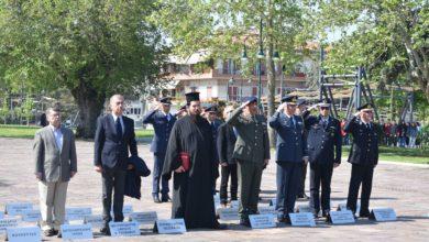 Τιμήθηκε η «Ημέρα Φιλελληνισμού και Διεθνής Αλληλεγγύης» στη Λάρισα (φωτο)