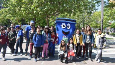 Τα παιδιά στη Λάρισα μαθαίνουν για την ανακύκλωση (φωτο)