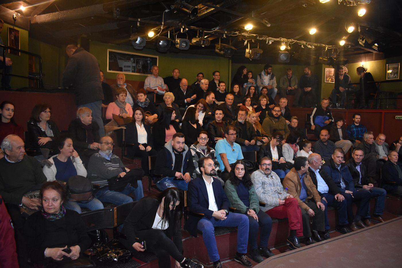 Το σύνολο των υποψηφίων του παρουσίασε ο υπ. Δήμαρχος Λαρισαίων Πέτρος Κρίκης (ονοματα)