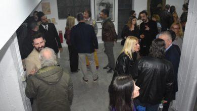 Εγκαινιάστηκε στη Λάρισα η έκθεση έργων με έμπνευση τον Μορικόνε (φωτο)
