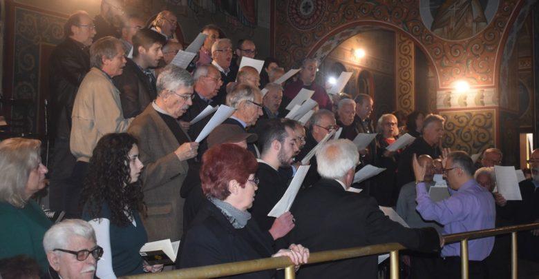 Το Τροπάριο της Κασσιανής έψαλλε ο Μουσικός Σύλλογος στον Ι. Ν. των Αγίων Τεσσαράκοντα στη Λάρισα (φωτο - βίντεο)