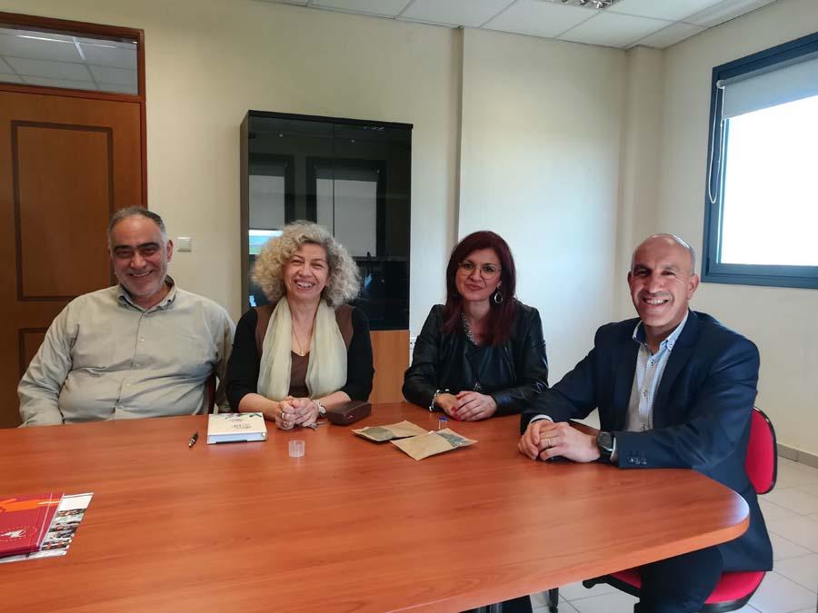 Στη Λάρισα ο ακόλουθος Επιστημονικών και Πανεπιστημιακών Συνεργασιών του Γαλλικού Ινστιτούτου Ελάδας
