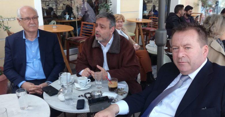 Στη Λάρισα ο υπουργός Επικρατείας Χ. Βερναρδάκης - Εύσημα σε Καλογιάννη, προαναγγελία υποψηφιότητας Κόκκαλη!