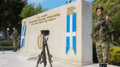 Μνημόσυνο για τους πεσοντες Θεσσαλούς Υγειονομικούς του Στρατού στη Λάρισα (φωτό)
