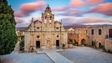 Η μαρτυρική Μονή Αρκαδίου της Κρήτης - Δείτε φωτογραφίες