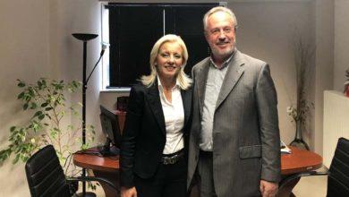 Με τη Ρένα Καραλαριώτου ο υποψήφιος ευρωβουλευτής ΝΔ Γιάννης Πάιδας