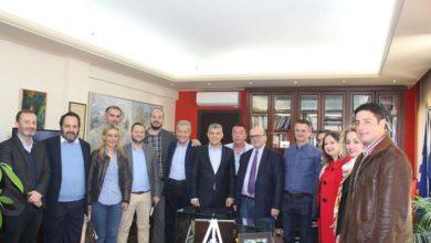 Συνάντηση του Κ. Αγοραστού με τον υποψήφιο Δήμαρχο Λάρισας Π. Γούλα