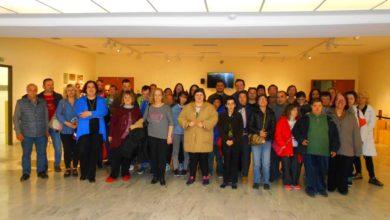 Επίσκεψη των εκπαιδευόμενων του Αριστέα στο Διαχρονικό Μουσείο Λάρισας