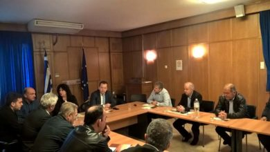 Συνάντηση Β. Κόκκαλη με παραγωγούς καλλιέργειας αμυγδάλου από τη Λάρισα και τη Μαγνησία