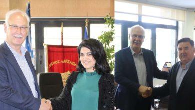 Βάιος Κυριτσάκας και Νικολέτα Χατζούλη στο συνδυασμό της «Συμπαράταξης Λαρισαίων»