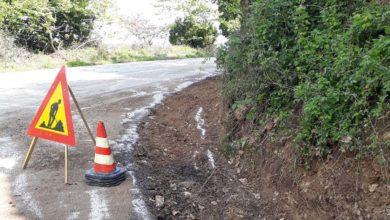 Ολοκληρώθηκε ο καθαρισμός του δρόμου Σ.Σ. Ραψάνης - Ραψάνης