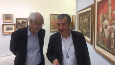 Με ξεναγό τον Καλογιάννη στην Συλλογή Κατσίγρα ο Σταύρος Θεοδωράκης