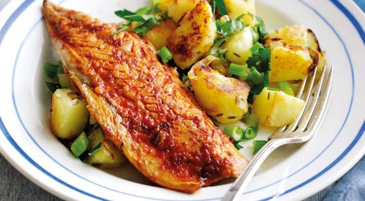 Κολιοί στο φούρνο με πατάτες