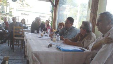 Επίσκεψη Γ. Πρωτούλη στο Γραμματικό για το ζήτημα των απορριμμάτων