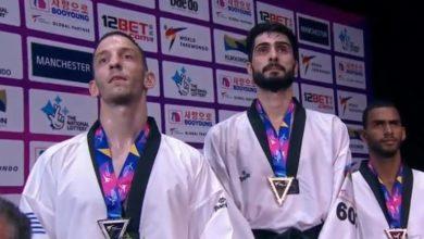 Ταεκβοντό: Ασημένιο μετάλλιο για τον Τεληκωστόγλου στο Παγκόσμιο του Μάντσεστερ