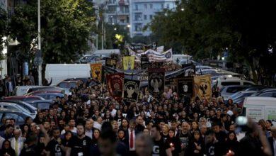 Θεσσαλονίκη: Με πορεία προς το τουρκικό προξενείο, ολοκληρώθηκαν οι εκδηλώσεις για την Γενοκτονία των Ποντίων