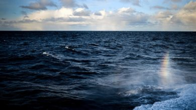 Πτώση αεροπλάνου στη Βόρεια Θάλασσα