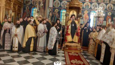 Η Καλαμπάκα τίμησε τους Οσίους Μετεωρίτες Πατέρες - Προεξήρχε ο μητροπολίτης Λαρίσης κ. Ιερώνυμος