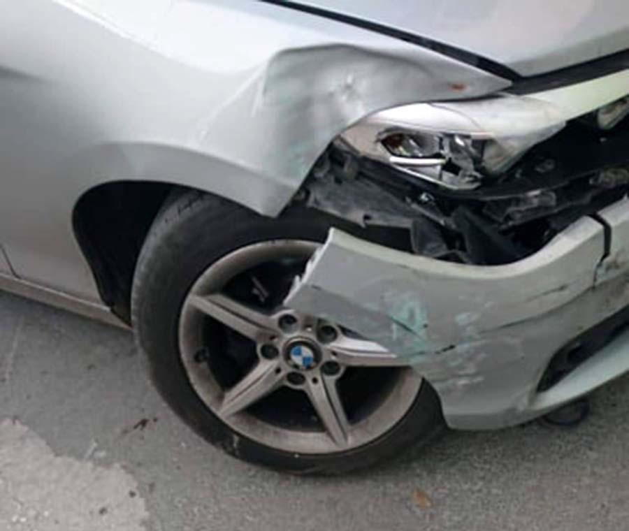 Θύμα τροχαίου ο βουλευτής της Ν.Δ. Γιώργος Κατσιαντώνης! - Δείτε φωτογραφίες