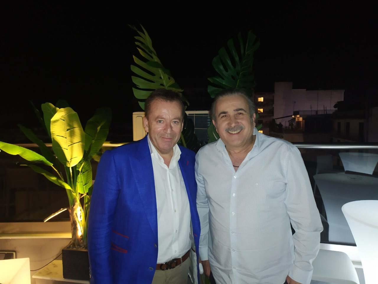 Το ταξίδι «αστραπή» του Λάκη Λαζόπουλου στη Λάρισα για τον Κόκκαλη