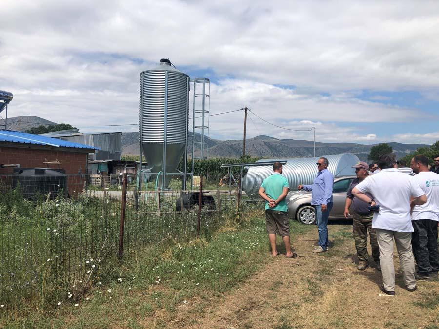 Ισοπέδωσε κτηνοτροφικές εγκαταστάσεις και καλλιέργειες στο Αργυροπούλι η κακοκαιρία (φωτό)