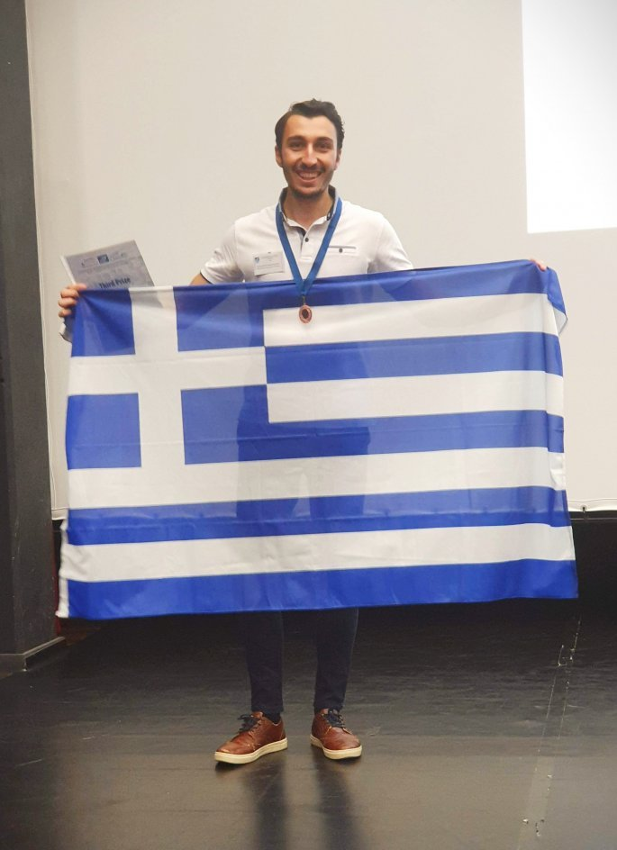 Χάλκινο μετάλλιο στον παγκόσμιο διαγωνισμό Μαθηματικών για Λαρισαίο φοιτητή (φωτο)