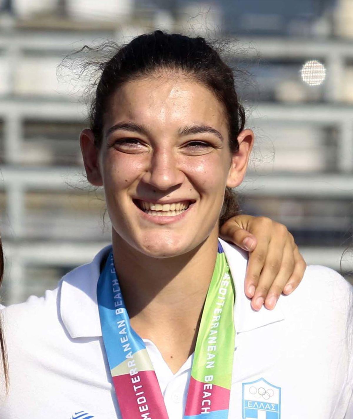 Ποδαρικό στα χρυσά μετάλλια για τη Λάρισα από την Κατερίνα Πιτσιάβα