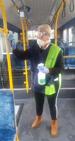 Μέτρα πρόληψης κατά του κορωνοϊού από το Αστικό ΚΤΕΛ Λάρισας