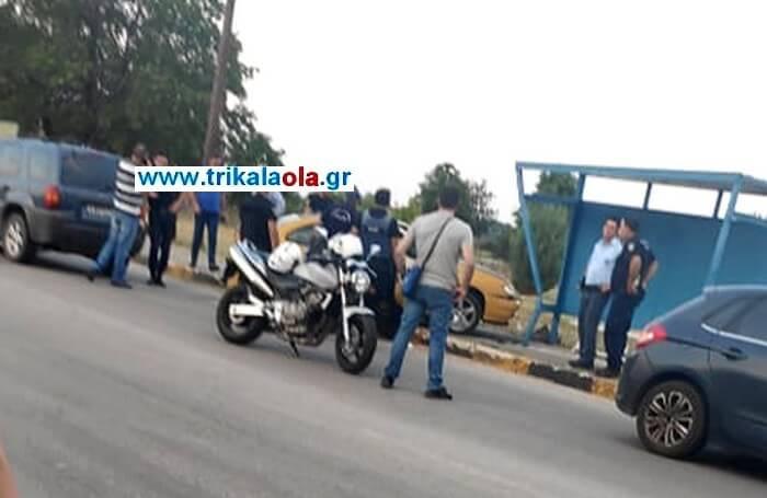 Άγρια καταδίωξη από Καρδίτσα και τον συνέλαβαν στα Τρίκαλα-βαριά τραυματισμένος ο αστυνομικός! (φωτό)