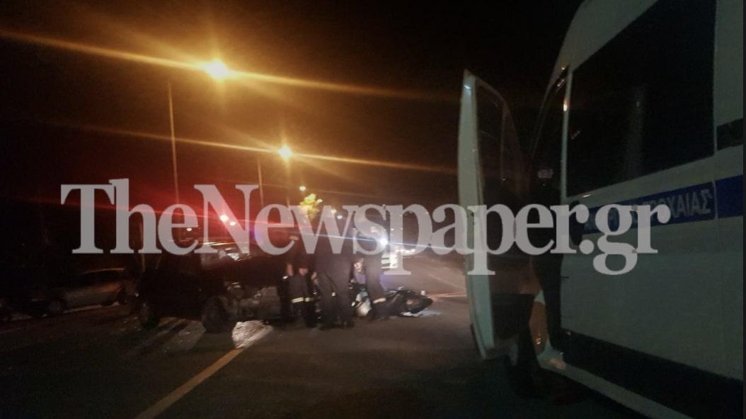Βόλος: Σοκαριστικό τροχαίο με έναν νεκρό τα ξημερώματα – Δείτε εικόνες και βίντεο